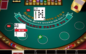 Blackjack Classic Mode